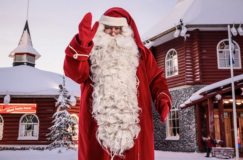 Деревня Санта Клауса Финляндия