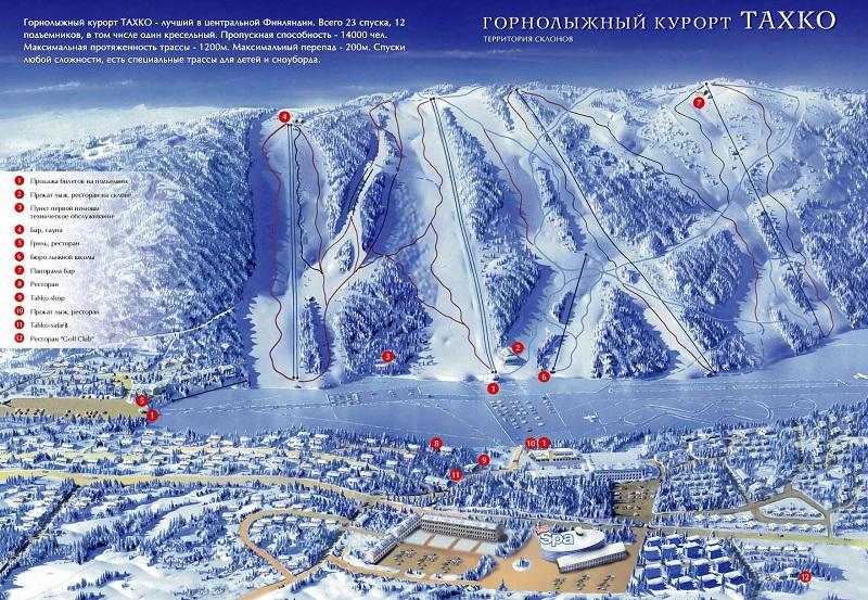 Карта Тахко