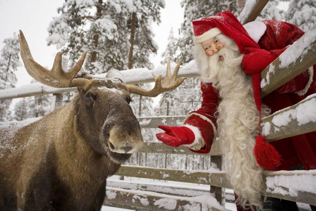 Санта Клаус в Финляндии