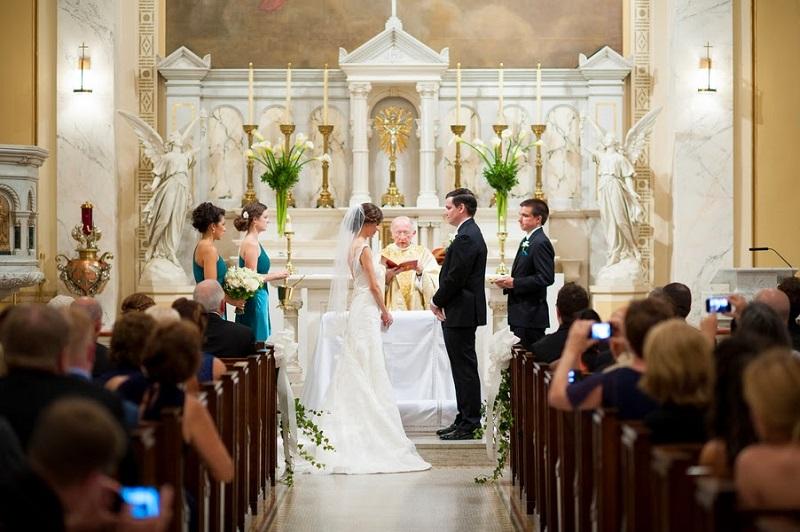 Финская свадьба в церкви