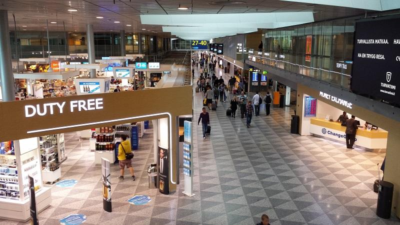 Магазины в аэропорту Хельсинки