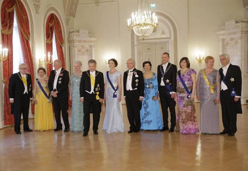 День Независимости Финляндии перед балом