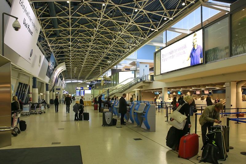 Аэропорт Хельсинки регистрация на рейс