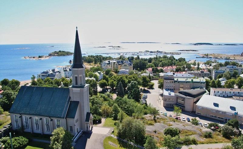 Самый южный город Финляндии