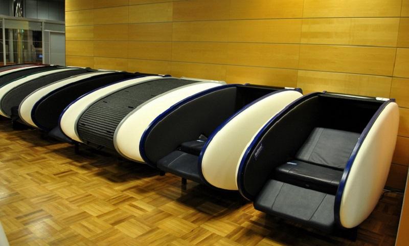 Капсулы сна в аэропорту Хельсинки