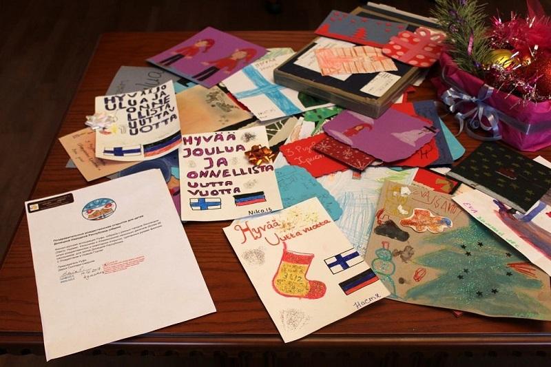 Праздничные рождественские открытки