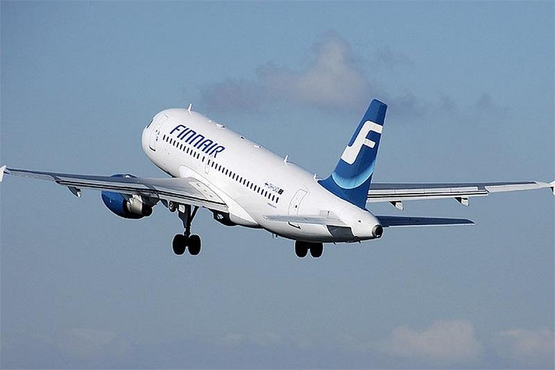 На самолете из Питера в Финляндию