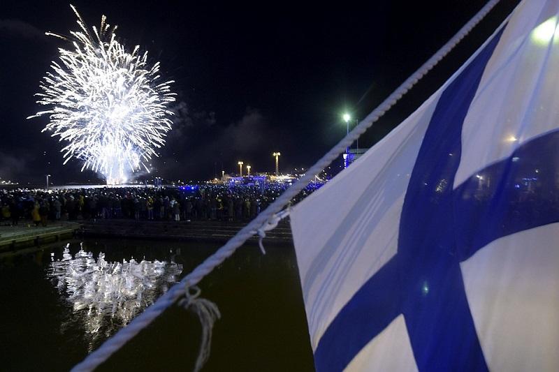 Празднование Дня Независимости Финляндии