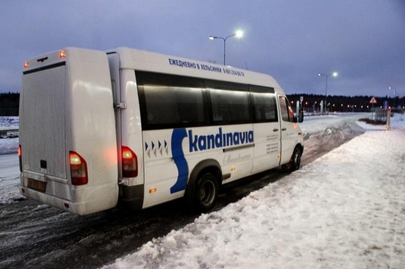 На маршрутке из Питера в Финляндию