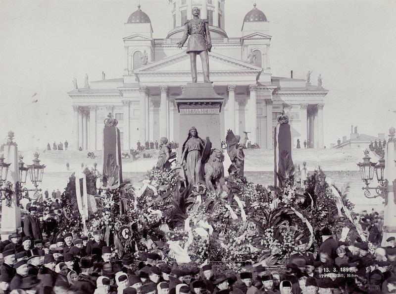 Памятник Александру 3 в Хельсинки