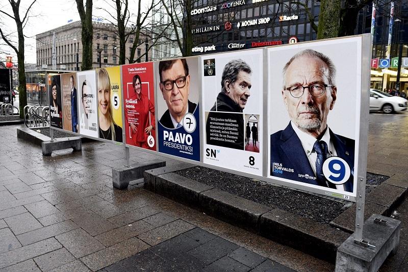 Выборы в Финляндии