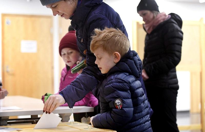 Как голосуют финны