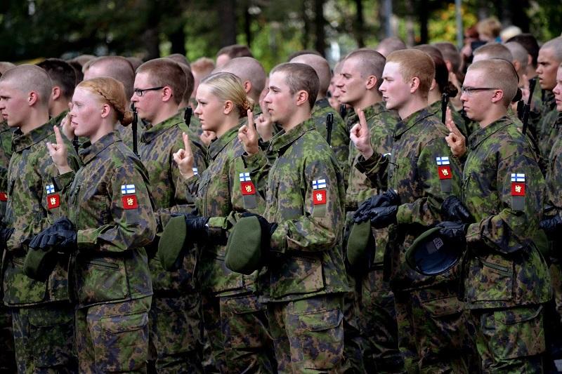 Воинская обязанность подростков в Финляндии