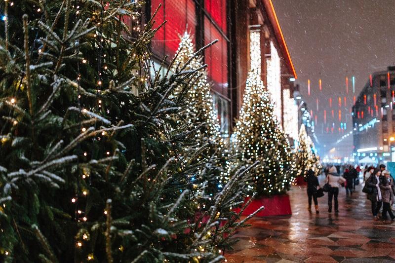 Финляндия новогодняя