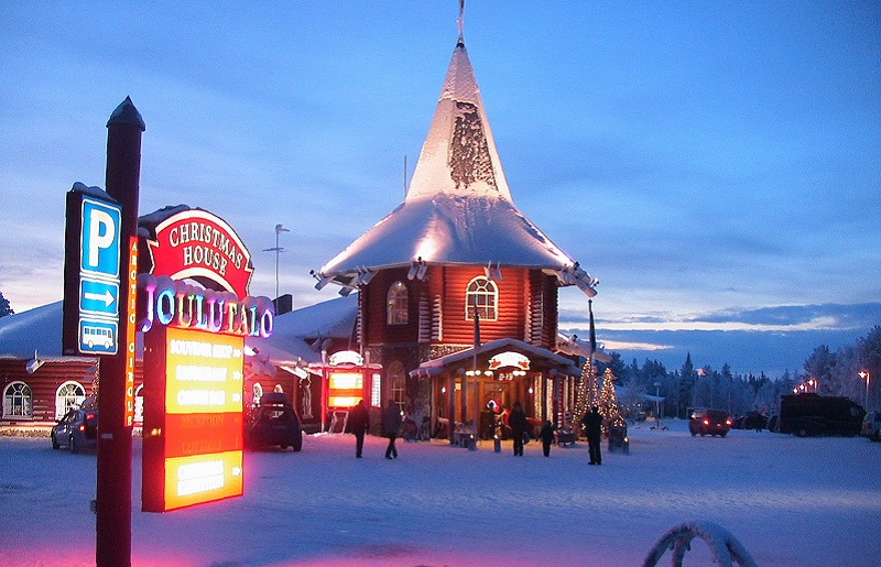 Деревня Санты в Финляндии