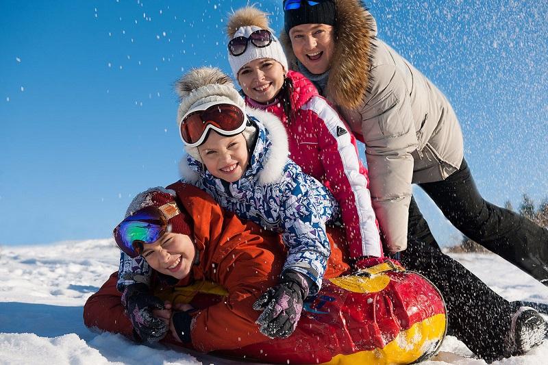 Отдых зимой в Финляндии с детьми