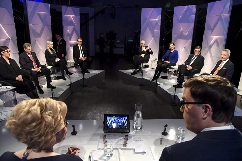 Предвыборные дебаты в Финляндии