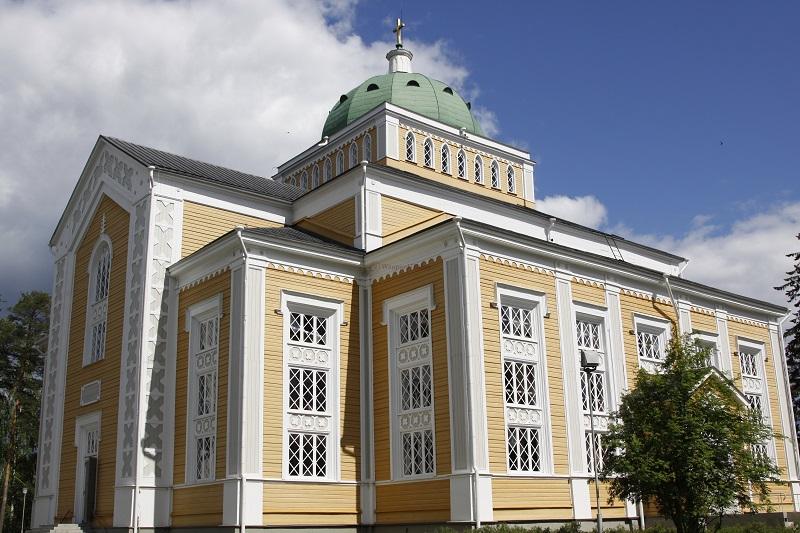 Церковь Керимяки в Южном Саво