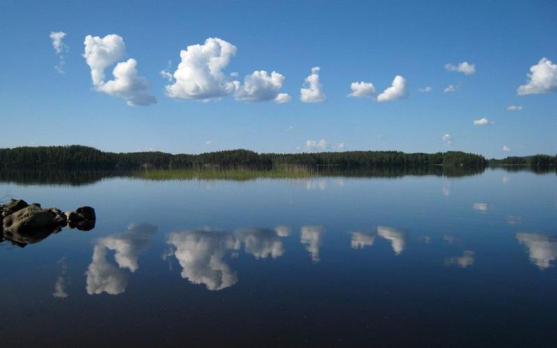 озеро Хаукивеси в Южном Саво