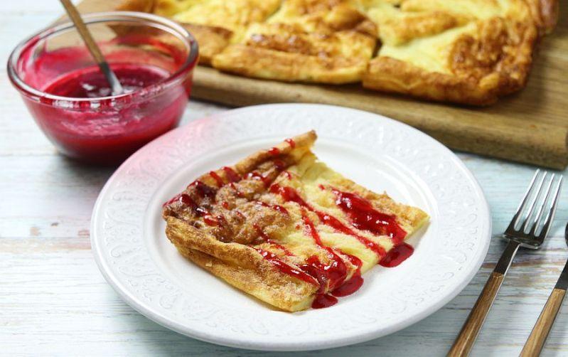 Финский завтрак блины с сыром