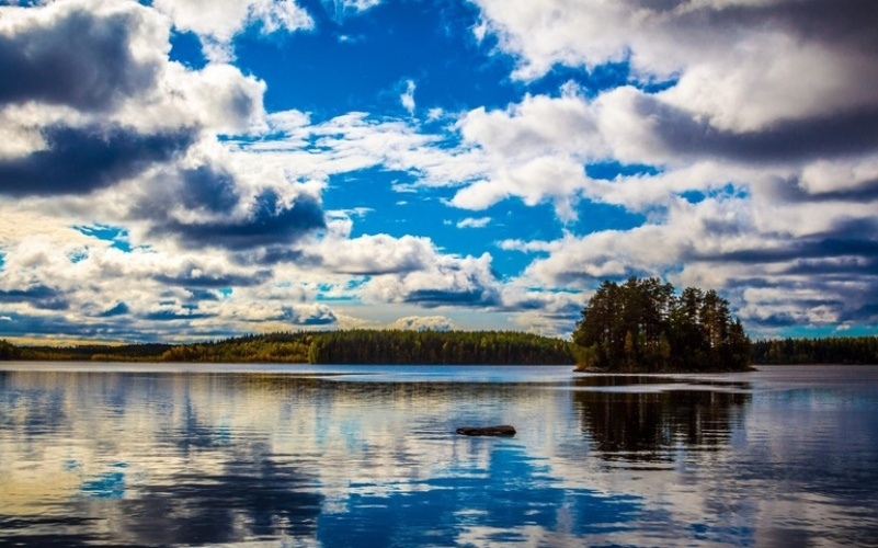 Новая Финляндия озера