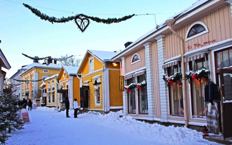 Куда поехать в Финляндию Порвоо