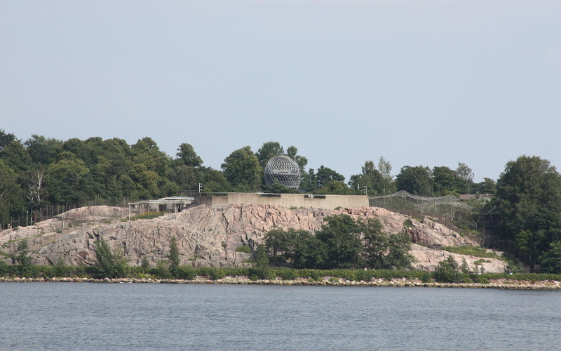 Зоопарк в Хельсинки остров