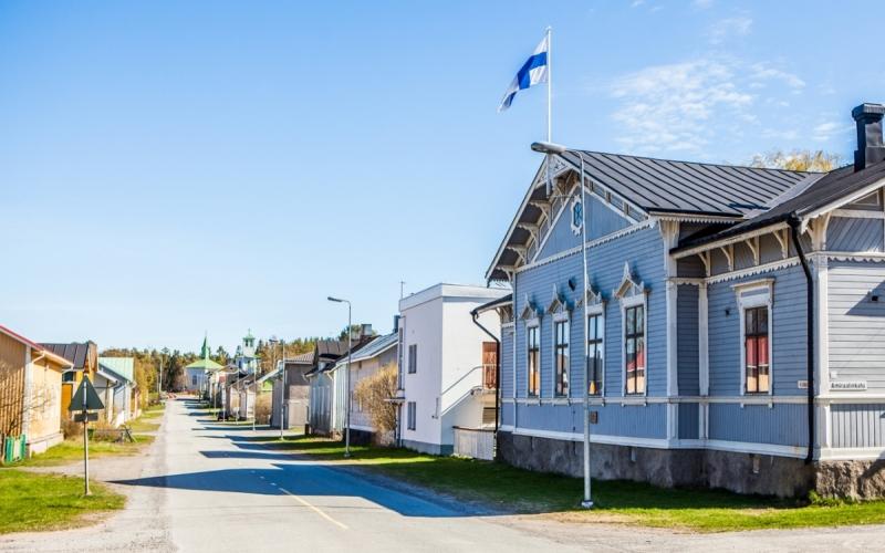 Финляндия пляжный отдых кемпинг