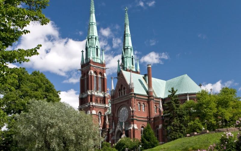 Достопримечательности Миккели, Финляндия кафедральный собор