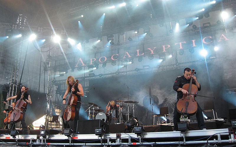 Наши в Финляндии рок концерт