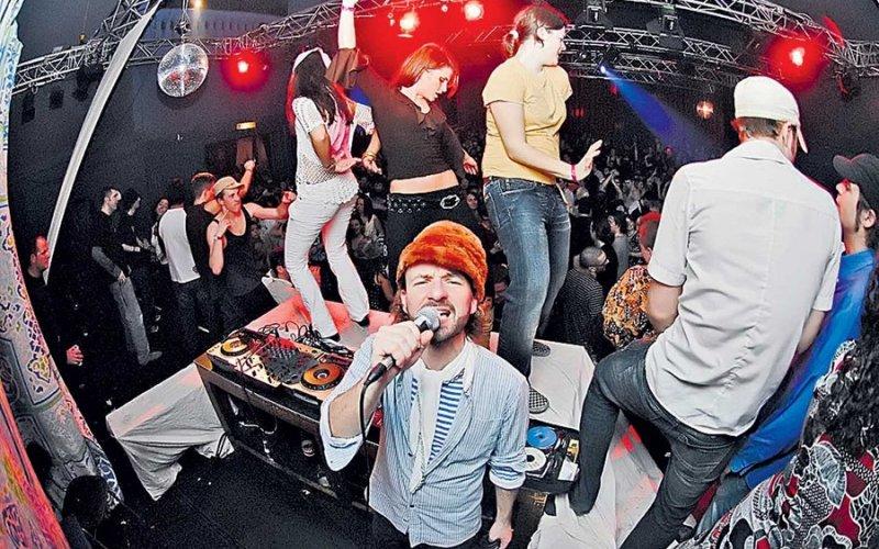 Наши в Финляндии ночной клуб