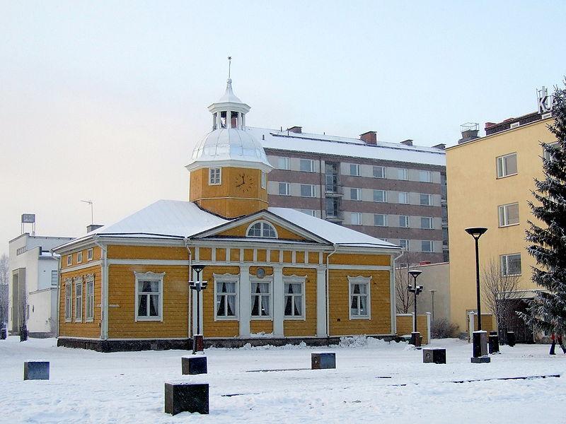 Каяни - рыболовная столица Финляндии архитектура