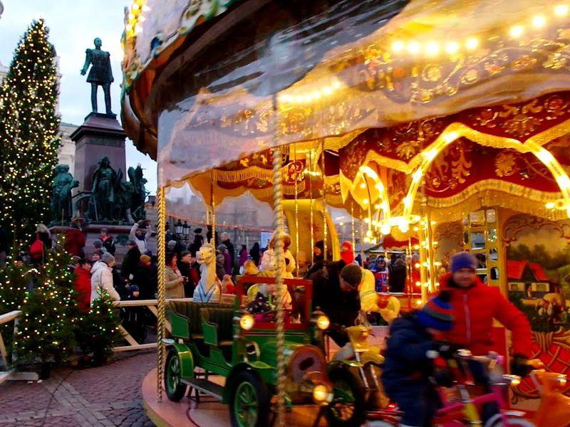 Новый год в Хельсинки о празднике